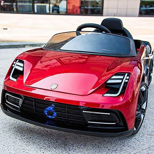 Showkig Baby-Geschenk-Schwingen-Auto 1-3 Jahre alt 4-5 Kinder Elektro-Auto-Auto mit vier Rädern Baby-Spielzeug mit Fernbedienung Autobatterielade Little Boy-Mädchen-Bluetooth-Fernbedienung + Musik + P