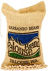 Palouse Brand is 100% committed to desiccant free farming. Palouse Brand foods are naturally dried by sunshine. These Kabuli Sierra Garbanzo Beans are as fresh as you can find! How many other people can tell you the exact field location and date we s...