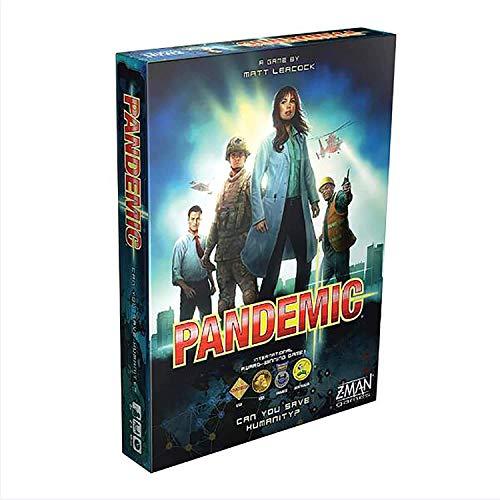 Juego de mesa pandémica - El destino de la humanidad está en tus manos - Juego en equipo - Para adultos - De 2 a 4 jugadores