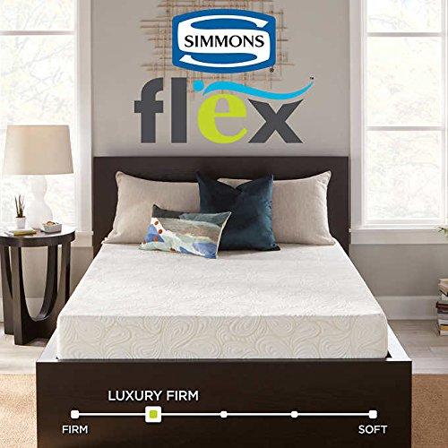 Simmons Flex 7.25' Twin Gel Memory Foam Mattress