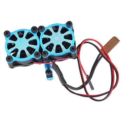 Annjom Radiador de Motor, radiador Universal, Motor Motor de 36 mm(Blue)