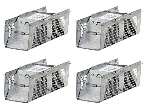 Havahart 1020 Live Animal Two-Door Mouse Cage Trap (Pack of 4)