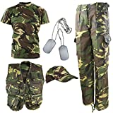 Kombat UK per Bambini DPM Camouflage Explorer Army Kit - Vestito...