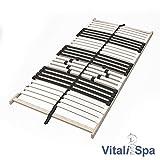 VitaliSpa 7-Zonen-Lattenrost 90x200cm Premium Härtegradverstellung Komfort (Einzeln) - 3