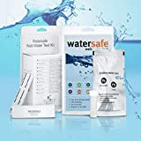 Watersafe Drinking Water Test Kit - World's Most Sensitive Lead Test - 10-Parameters Detected in Tap & Well Water, Water Filters - Easy Test Strips for Lead, Pesticides, Bacteria, Hardness, and More