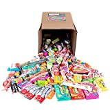 Your Favorite Mix of Popular Candy! 3 Pounds of Laffy Taffy, Starburst, Blow Pop's, Tootsie Rolls, Ferrara Pan, Airheads & Much More. (Packed in a Small 6 inch cube box)