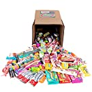Your Favorite Mix of Popular Candy! 3 Pounds of Starburst, Blow Pop's, Tootsie Rolls, Ferrara Pan, & More.(Packed in a Small 6 inch cube box)