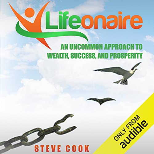 Lifeonaire Audiobook By Steve Cook cover art