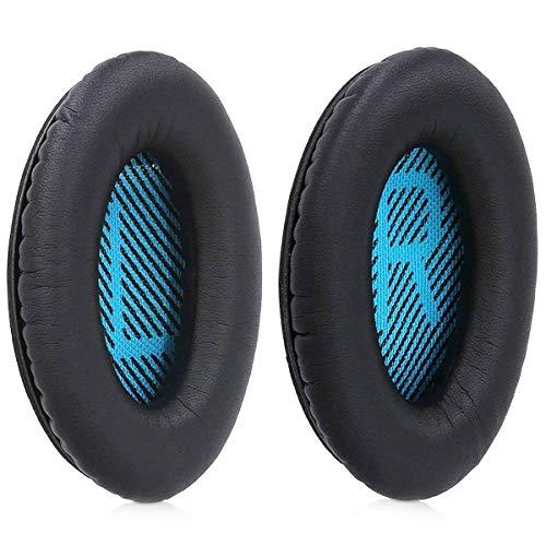 MMOBIEL Almohadillas para Auriculares Compatible con Bose Quiet Comfort QC2 QC15 QC25...