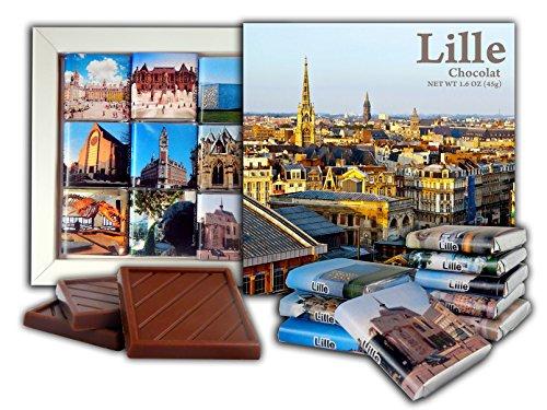 DA CHOCOLATE Candy Souvenir LILLE Chocolate Gift Set 5x5in 1 box (Journee)