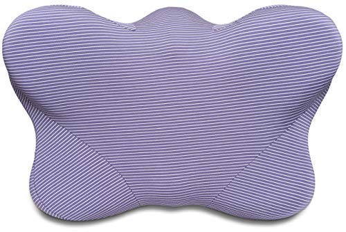 CPAP Pillows for Side Sleepers - Contoured Memory Foam CPAP Pillow with Cover Reduces Mask Pressure, Air Leaks - CPAP Pillows for Sleeping Restfully, CPAP Compliance - Blue