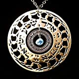 Shma Israel Gold Necklace, Ins...