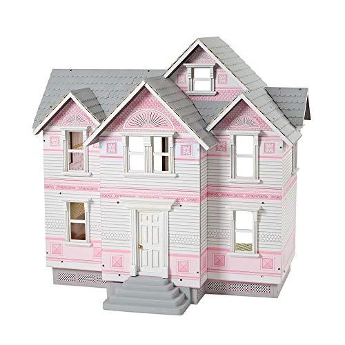 Melissa & Doug Classic Heirloom Victorian Wooden Dollhouse [White]
