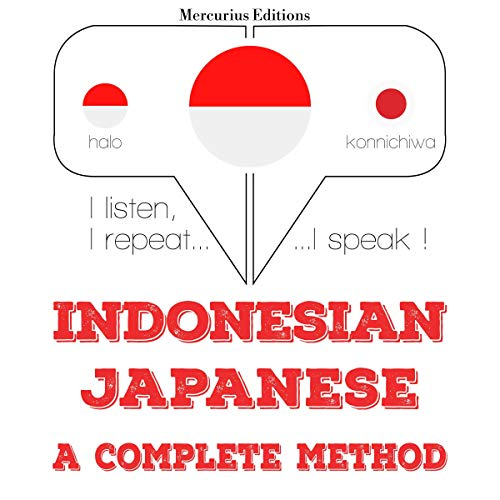 Indonesian – Japanese. A complete method cover art
