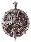 Viking Lord Shield & Sword Standard