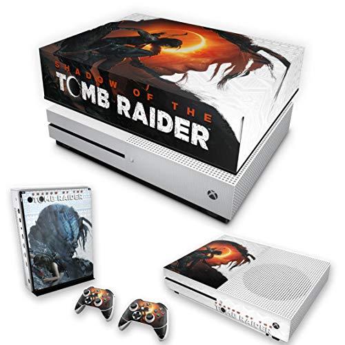Capa Anti Poeira e Skin para Xbox One S Slim - Shadow Of The Tomb Raider