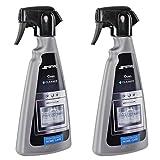 Smeg, detergente sgrassante spray per forno e fornelli; 500ml (confezione da 2)...