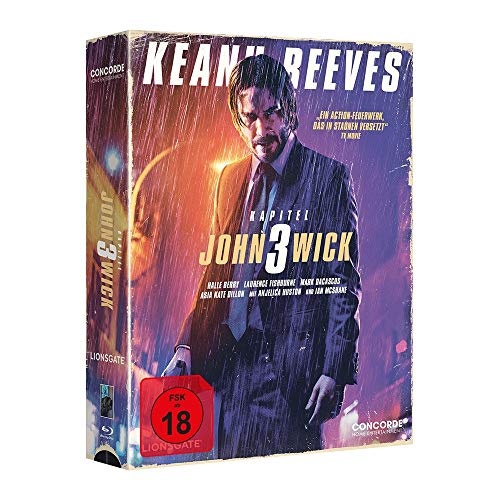 John Wick 3 - Tape Edition limitiert auf 3333 Stück [Blu-ray]