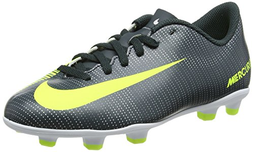 Nike Mercurial Vortex III Cr7 Fg, Scarpe da Calcio Unisex – Bambini, Multicolore Algen Volt Weiß, 35 EU