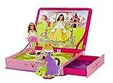 Doux Moulin Juego DE Princesas MAGNETIK - Un Juego con Figuras de Princesas magnéticas Creativo y Educativo