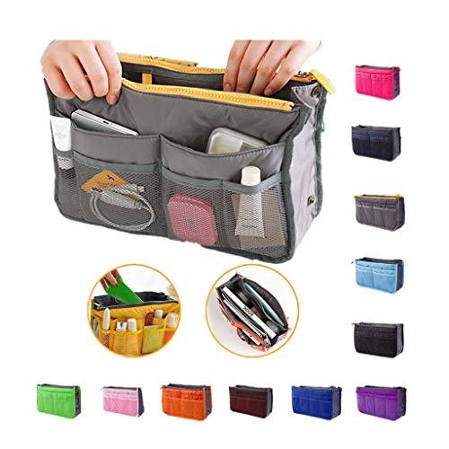 Pageantry Taschenorganizer für Frauen Taschen Organisator Multifunktional Kosmetikorganizer Handtaschen-Organizer Handtasche Organizer Reisetasche Trading Tasche (19x7x3 Zoll)