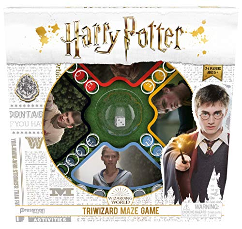 Goliath Games 4331-06 Harry Potter Tri-Wizard Maze, Classic Fast Action Pop n Race Game for Kids Aged 5+, Multi