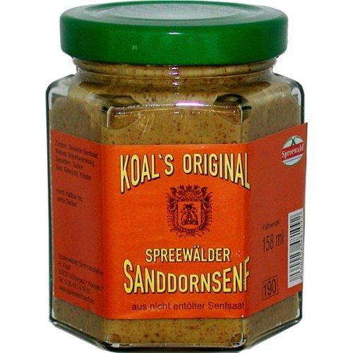 Spreewaldsenf Koals Spreewälder Sanddornsenf 158 ml