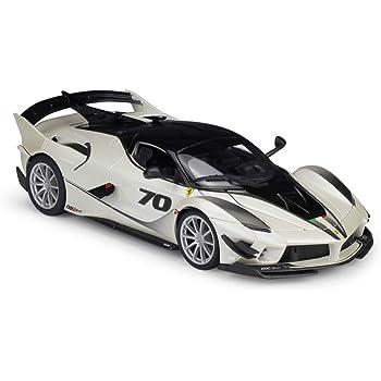 Ferrari FXX-K evo Coupe Blanco gris nr 70 con zócalo 18-16010 1//18 Bburago modelo