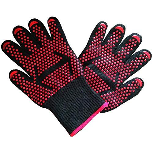Stellig Hoge Temperatuurbestendige Handschoenen Bakken Hoge Temperatuurbestendige Handschoenen Veld Barbecue Keuken Milieubeschermingshandschoenen, Camouflage Pijl, Gemiddelde Code WFSH