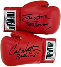 sylvester stallone signed glove