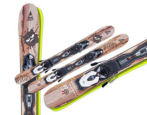 GASPO Snowblades Woody 99cm + Tyrolia Sicherheitsbindung Saison 2021/22
