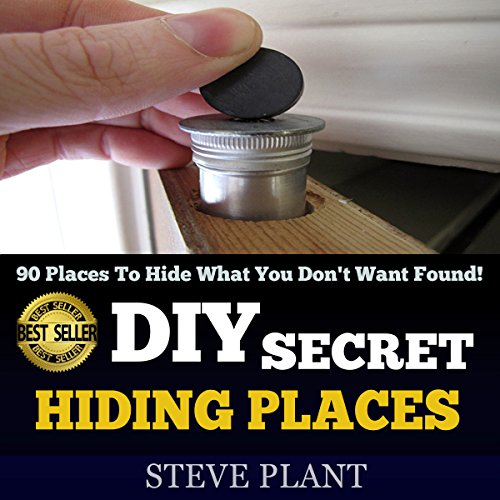 DIY Secret Hiding Places audiobook cover art