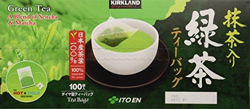 Kirkland Ito En Matcha Blend Japanese Green Tea-100 ct 1.5g tea bags - PACK OF 4