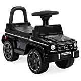 Best Choice Products Kids Mercedes G63 Foot-to-Floor Ride-On Push Car w/ Horn - Black