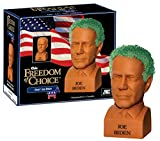 Chia Pet Joe Biden with Seed Pack, Decorative Pottery Planter, Easy to Do and Fun to Grow, Novelty Gift, Perfect for Any Occasion, Terra Cotta