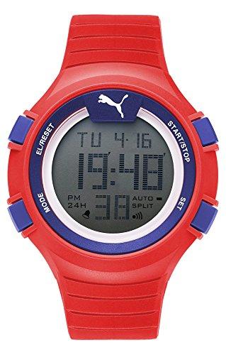 Puma Reloj Digital para Hombre de Cuarzo con Correa en Plástico PU911261005