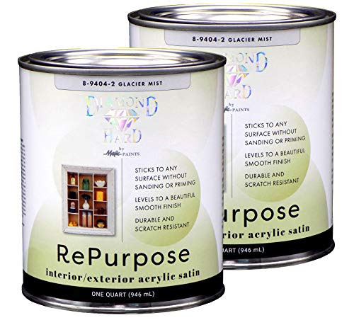 Majic Paints Interior/Exterior Satin Furniture Paint, RePurpose your Furniture, Cabinets, Glass,...