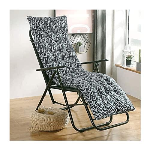 Mirui Silla de jardín Patio Cojín Viaje de Vacaciones al Aire Libre jardín Interior del Amortiguador del sillón sin sillas