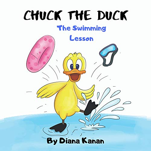 Chuck the Duck: The Swimming Lesson (English Edition)