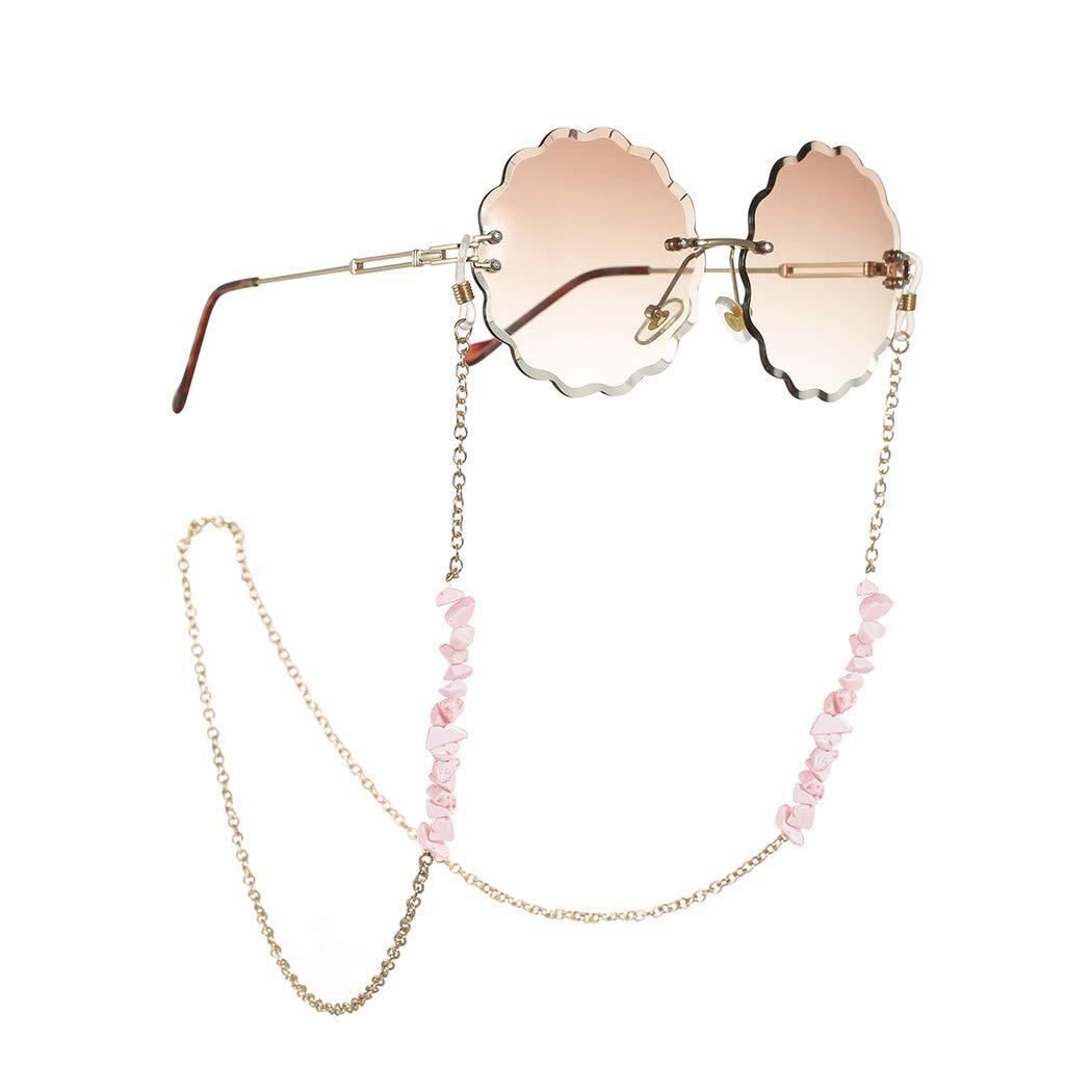 Obmyec Boho Eyeglasses Chain famous Eyeglass Challenge the lowest price Sunglass C Turquoise
