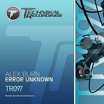 Error Unknown