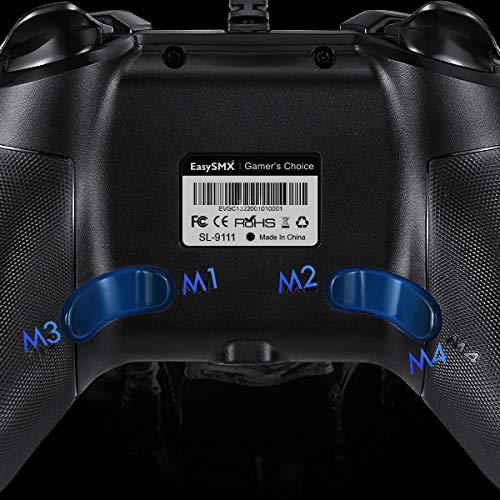 【2021最新版】有線PS3/PCゲームパッドパソコンゲーミングコントローラー連射・振動機能搭載Windows/Android/PS3/TVBoxに対応(ブラック)