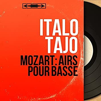 Mozart: Airs pour basse (Mono Version)