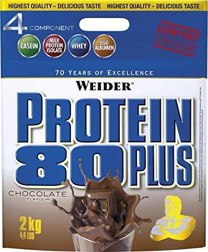 Joe Weider Protein 80 Plus, 2 Kg Beutel (Geschmack: Banane)