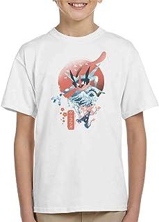 Cloud City 7 Ukiyo Greninja Kid's T-Shirt