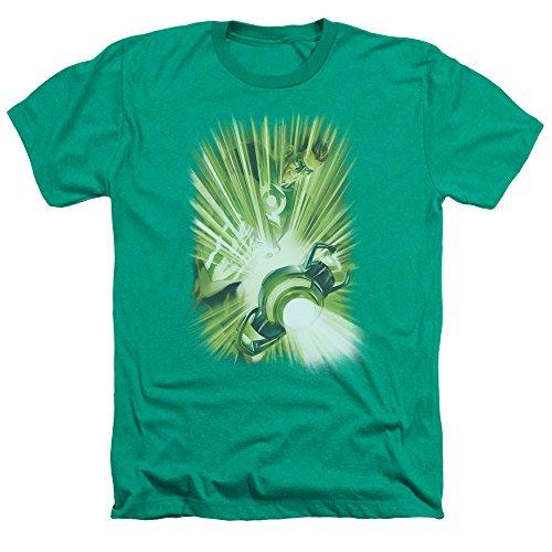 Green Lantern - Hombre Linterna'S Light T-Shirt En