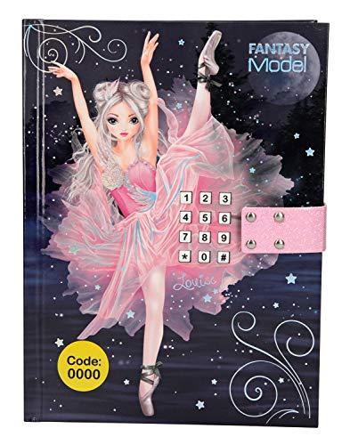 Depesche 10196 Tagebuch mit Geheimcode und Sound Fantasy Model, bunt