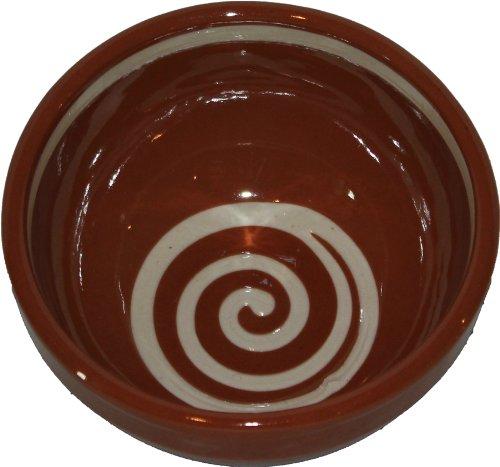 Amazing Cookware Bol Spirale à Dessert 13 cm, Marron/crème