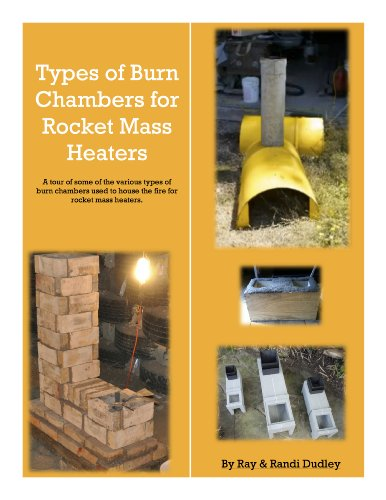 Burn Chambers for Rocket Mass Heaters: A short introduction to 4 types of burns chambers for rocket mass heaters (English Edition)