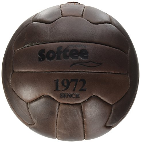 Softee Equipment 0000148 Balón Vintage, Blanco, S